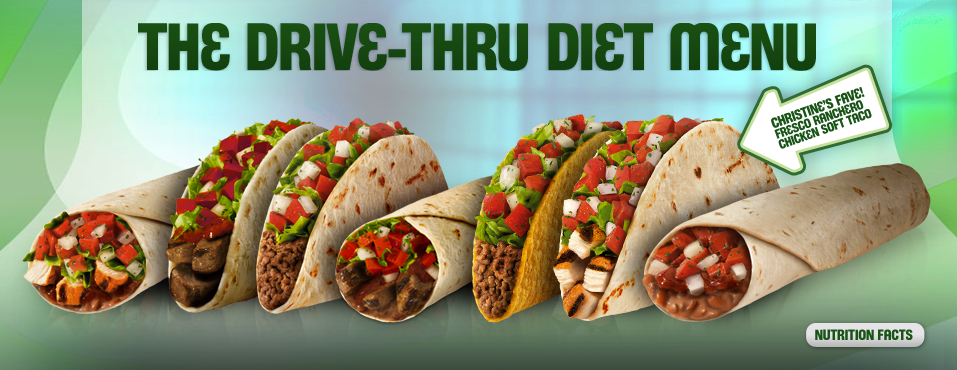 Healthy Fast Food Drive Thru Restaurants