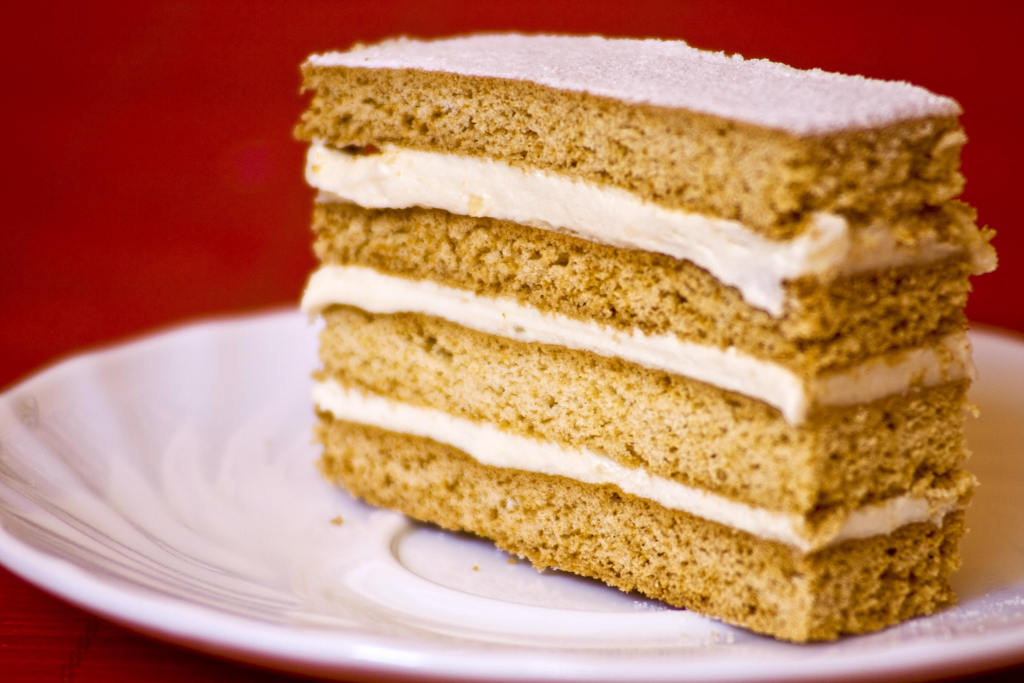 Простой песочный торт в домашних условиях 437