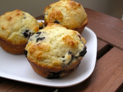 Almost-Perfect Blueberry Muffins | Health for the Whole Self